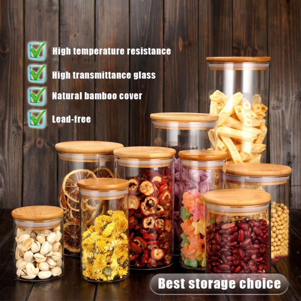 #eco #ecofashion Stylish Glass Storage Jars for Kitchen https://t.co/Be7MuAC1Iu