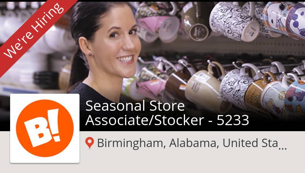 Apply now to work for #BigLots as #Seasonal Store #Associate/Stocker - 5233! (#Birmingham) #job https://t.co/MC5EcBr4T5 https://t.co/Vq4uKa2jDW