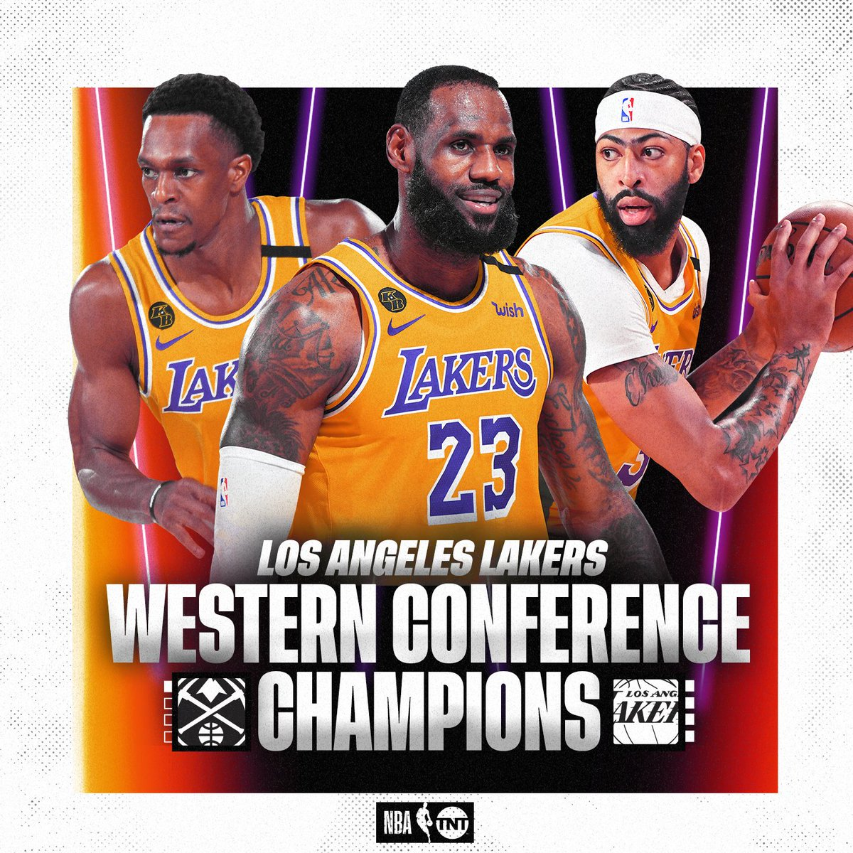 The Lake Show is back in the #NBAFinals for the first time since 2010 ⭐️