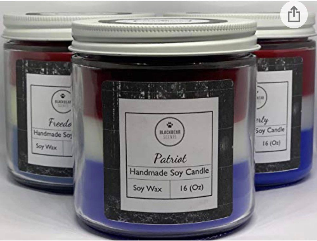 test Twitter Media - I love these candles!! I have several outside on my patio :) Treat yourself to the same candles I love from a small business I love  #Freedom #Liberty #Patriot #shopsmall #shoplocal #SmallBusiness   BlackBearScentCo 3 Pack 16 Oz Each - America Bundle https://t.co/uTjfLVQB7g https://t.co/86SOkei79I