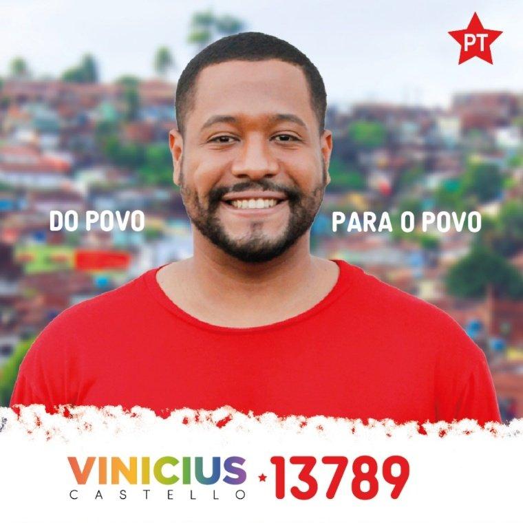"""Vinicius Castello on Twitter: """"É OFICIAL! Sou CANDIDATO a vereador de OLINDA! É a periferia movimentando a estrutura da sociedade. Essa candidatura virá para potencializar o povo, falar sobre nós, por nós."""