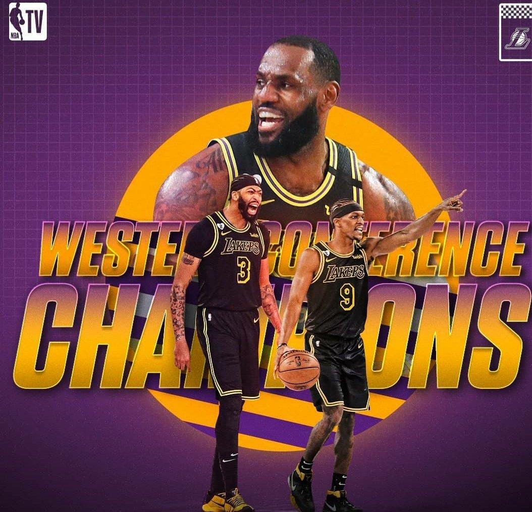 let's fucking GO 💜💛💜💛 #Champions  #LakerNation  #Lakers  #NBAPlayoffs #LeBron #AnthonyDavis #finals #MambaForever https://t.co/6FyJ89hJmP