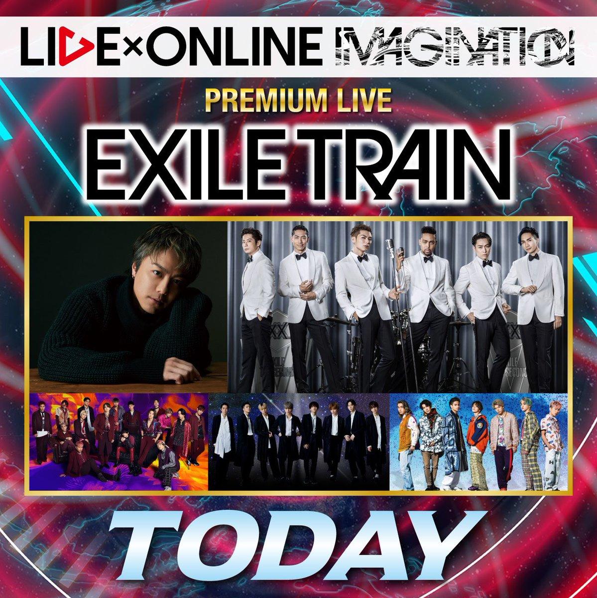 本日9月27日(日)は…‼️‼️PREMIUM LIVEEXILE TRAINのLIVE×ONLINE🚂✨EXILE誕生19年記念の特別な一夜となるライブをお見逃しなく👀#EXILETRAIN#LIVEONLINE #アベマLDH祭り#TODAY