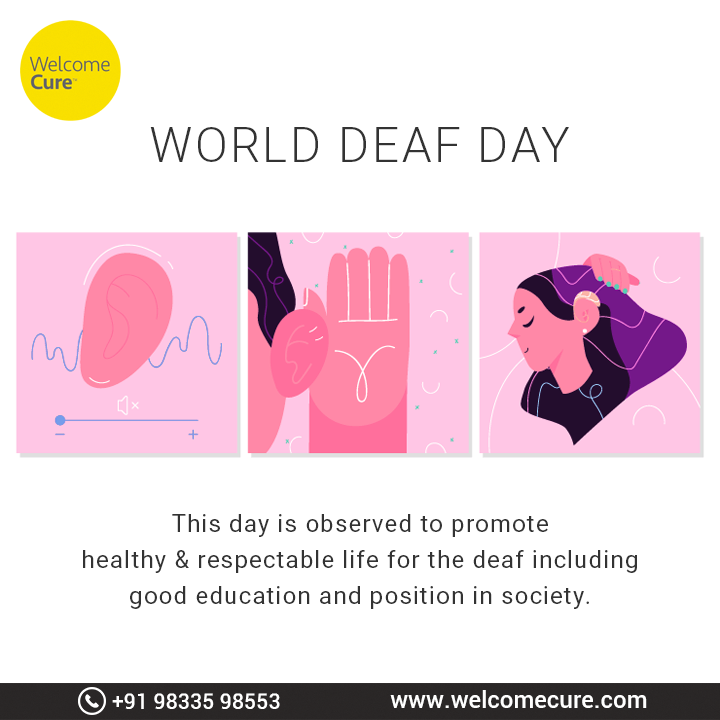 World Deaf Day is recognised as awareness about the contribution of the deaf in growth of the country. #WorldDeafDay #DeafAwarenessWeek #Deaf #disability #social #DeafDay #deafawarenessmonth #specialneeds #deafness #SignLanguage #InternationalWeekOfTheDeaf #DayOfSignLanguage https://t.co/VpGBbI4w8i