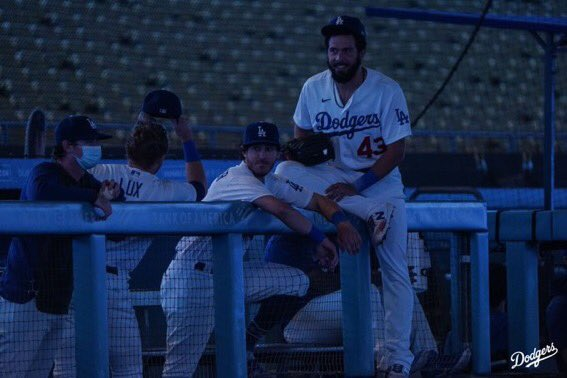 """""""So I was like when the lights are on, the power's going out of the light, right? But here, it's like, we don't know where the power went, right? And when your girl's mad and she leaves and you're like 'where you going?' And she's like 'Out.'""""  ~Deep Thoughts with Cody Bellinger~ https://t.co/TFOcV0sisx"""