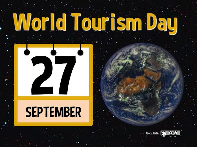 World Tourism Day - 27 September  IMAGES, GIF, ANIMATED GIF, WALLPAPER, STICKER FOR WHATSAPP & FACEBOOK