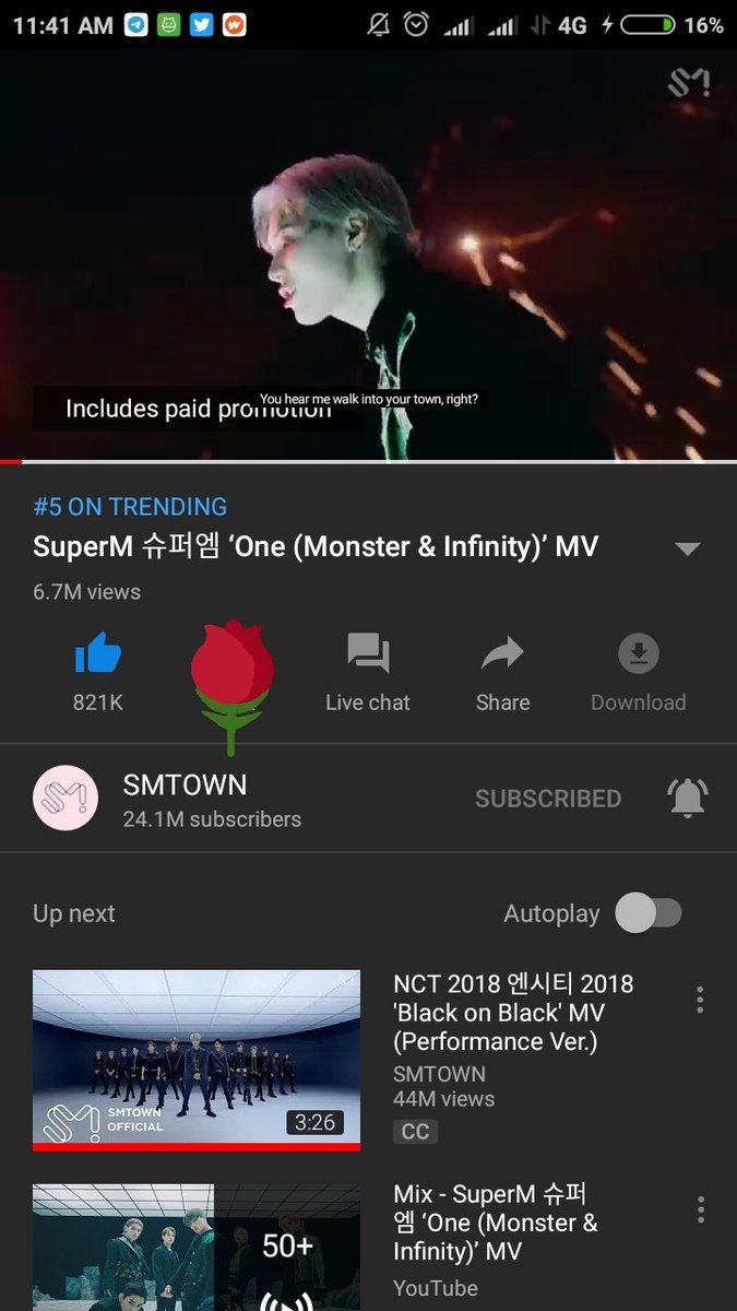 8. (27-09-2020)  One (Monster & Infinty)  #SuperM #SuperM_SuperOne #TAEYONG #TAEYONG_SuperOne #Monster_Infinity #SuperOne #WeAreTheFuture @superm https://t.co/IYViJsS4cD