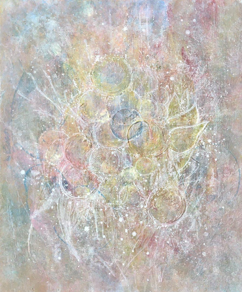 「 apoptosis 」  273×220mm (F3size)  ——  樫内あずみHP https://t.co/tLfVDRB7YT  #絵 #art #artworks #apoptosis #アポトーシス https://t.co/CORkZqXTKB