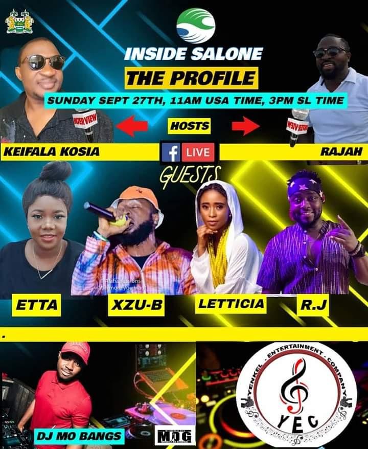 Inside Salone 🇸🇱 #THE_PROFILE program @ 3pm today. Join the Facebook LIVE #IMadeIT ft. @_lyricaljoe 🇬🇭 Audiomack https://t.co/mplWPGsgAI YouTube https://t.co/zv4gbx4rZ0 #SaloneTwitter #Freetown #SierraLeone https://t.co/jHNpzs7hv8