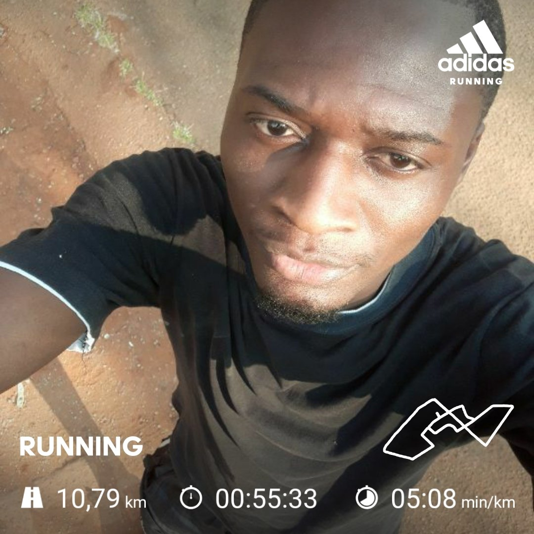 Jog and you will be handsome they said😂 but, in this case I had to jog for charity😊. Thanks for the initiative. @OldMutualZW #OMWestgateVirtualMarathon #WestgateVirtualMarathon https://t.co/m8i9XusKgl