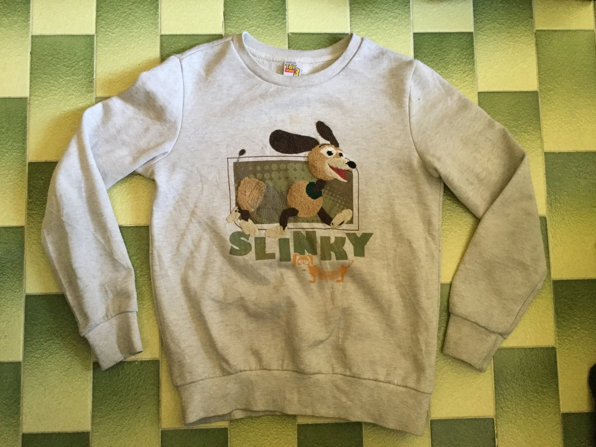 Excited to share the latest addition to my #etsy shop: Slinky toy story 3 disney pixar pullover Sweatshirt https://t.co/axOB7ulICO #gray #no #toystory3 #slinkydog #woodytoystory #buzzlightyear #disney #vintagemovie #tommyhilfiger https://t.co/f2b3HtwyZd