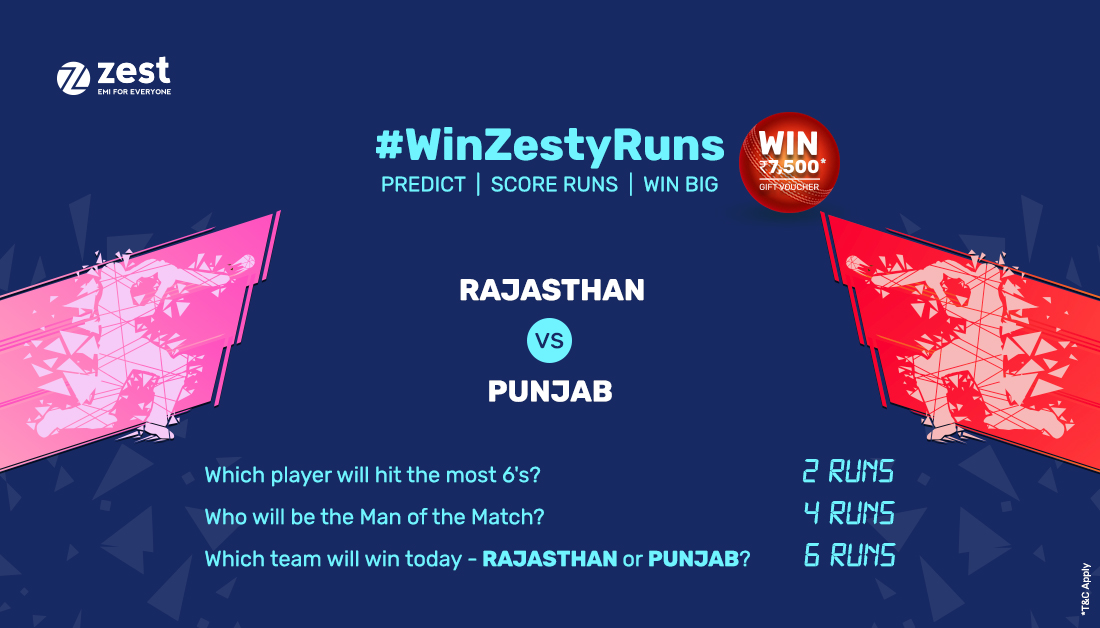 Guess the right answers to these questions and stand a chance to win gift vouchers worth Rs. 7,500 at the end of the season. Hurry! Follow our page and comment below using #WinZestyRuns. The contest ends at 6:30 pm today.  #premierleague #cricketseason #cricket #WinZestyRuns https://t.co/BkIprJjqdy