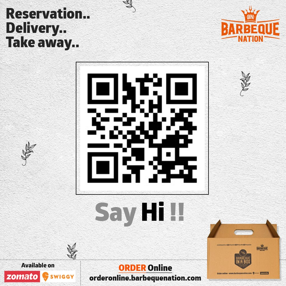 Celebrate birthdays, anniversaries, get-together, while we deliver your favourite dishes from Barbeque Nation @ your door step with BBQ in a box. For Delivery / Takeaway : https://t.co/UXokMCqai5 https://t.co/sG700051PA