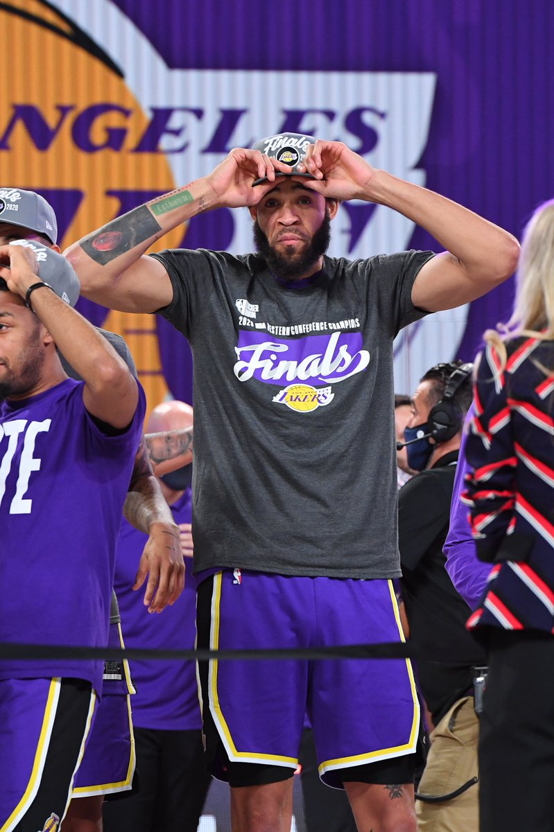 The Western Conference Champs! #LakeShow