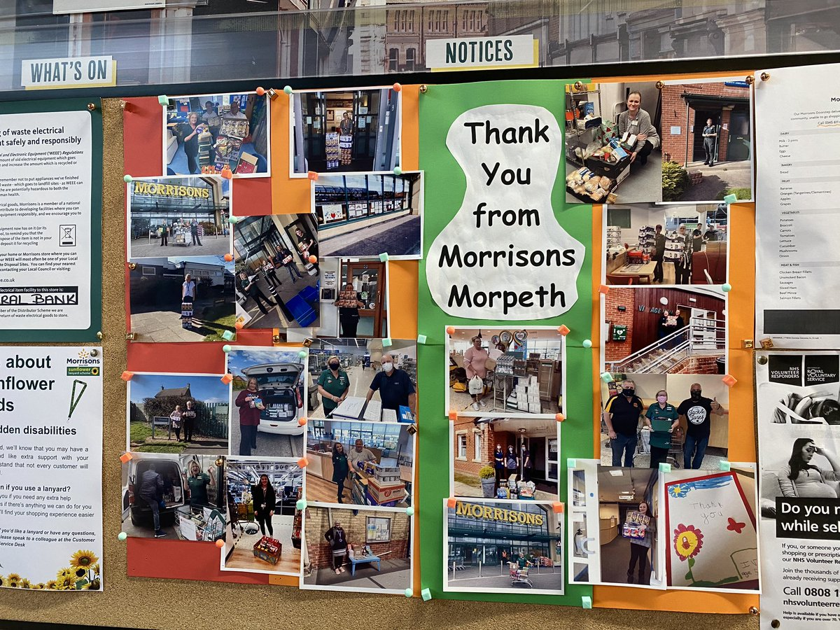 Great to see Northumberland Freemasons @ProvincialGLN @widowssonsnland on @Morrisons Morpeth notice board in the store @leadinglink @lynhorton @HighlightsPR @sanger_george @MarkPGM @WorvellMichelle Northumbria Widows Sons support local charities and good causes #foodbank https://t.co/F8AmPsv3GJ