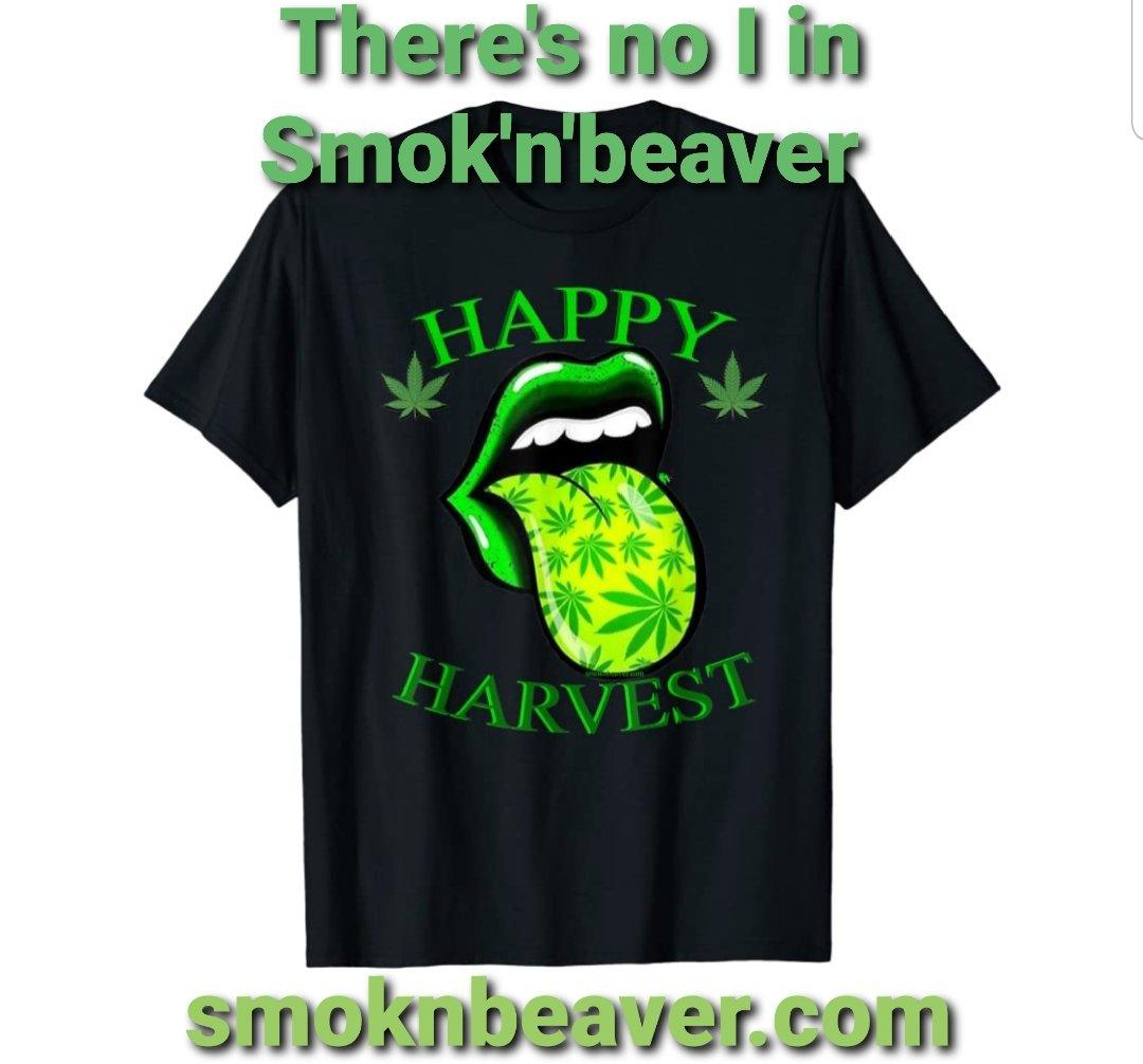 Get your HAPPY HARVEST shirt today! https://t.co/nYuETtZgCy #smoknbeaver #morebeaver #harvest2020 #weed #WeedLovers #weedlife #420friendly #420squad #420community #420daily #MARYJANE #smoke #usa #uk #unitedkingdom #north #america   https://t.co/W8alR0OF6x  https://t.co/9DO852EMhY https://t.co/bwguZGnWIv