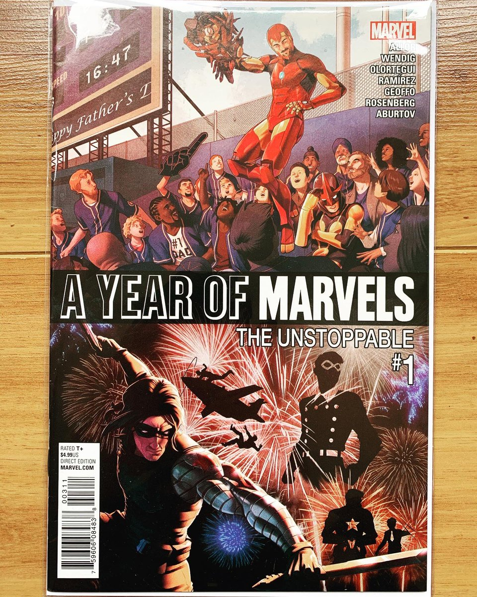 A Year of Marvels: The Unstoppable  Celebrating the 4th of July is complicated enough for the Winter soldier. But then Hydra agents had to go and rob his secret storage locker. What do they want? Bucky doesn't care - he just wants it back.  #marvel #wintersoldier #comics42shop https://t.co/INUYvQh45r