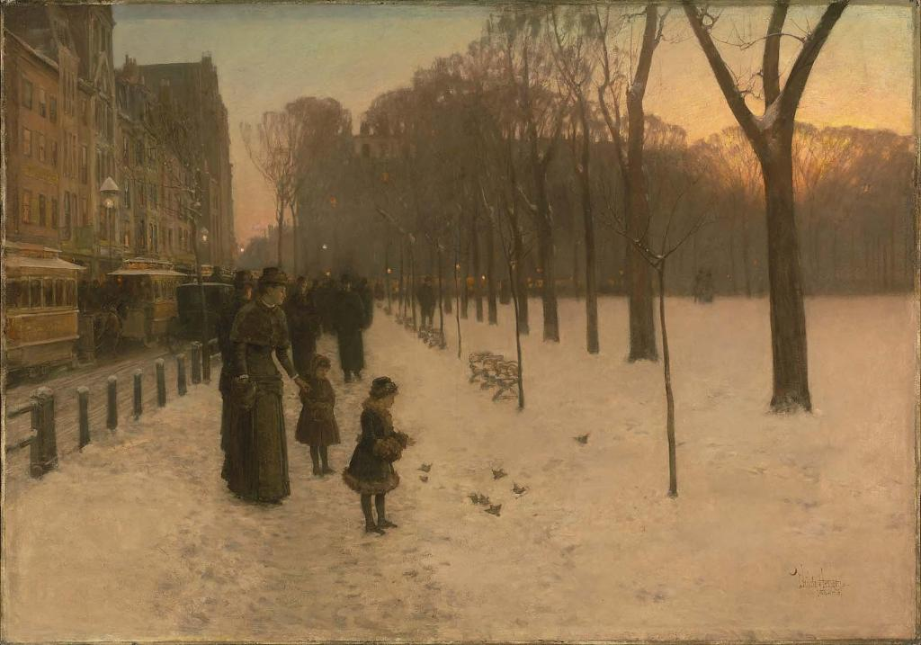 """Welcome back, Boston 👋 October tickets are selling fast, but you can still reserve your spot to see Childe Hassam's """"At Dusk (Boston Common at Twilight)"""" (1885–86) in the Art of the Americas Wing! https://t.co/r58CgUlDWy"""