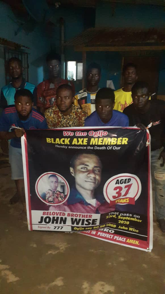 Ogun State: 8 Black Axe members arrested while mourning John Wise at Ogijo