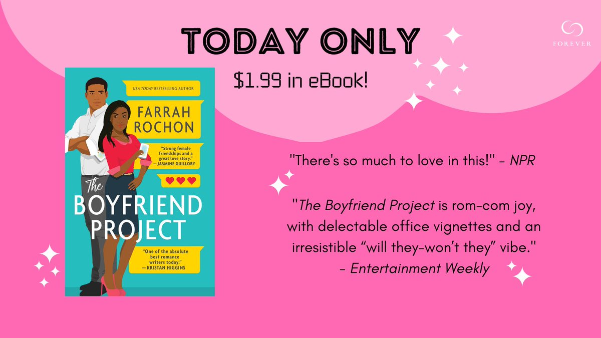 THE BOYFRIEND PROJECT is the Kindle Gold Box Deal of the Day!   Grab it for $1.99! Today only!   https://t.co/W6mtts0Nhe https://t.co/BnOtBojSug