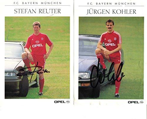 #FootballMemorabilia #SportsMemorabilia Jürgen Kohler & Stefan Reuter autographs, signed cards ➤ https://t.co/PE3vElcz1h https://t.co/XPCa4KkBxF