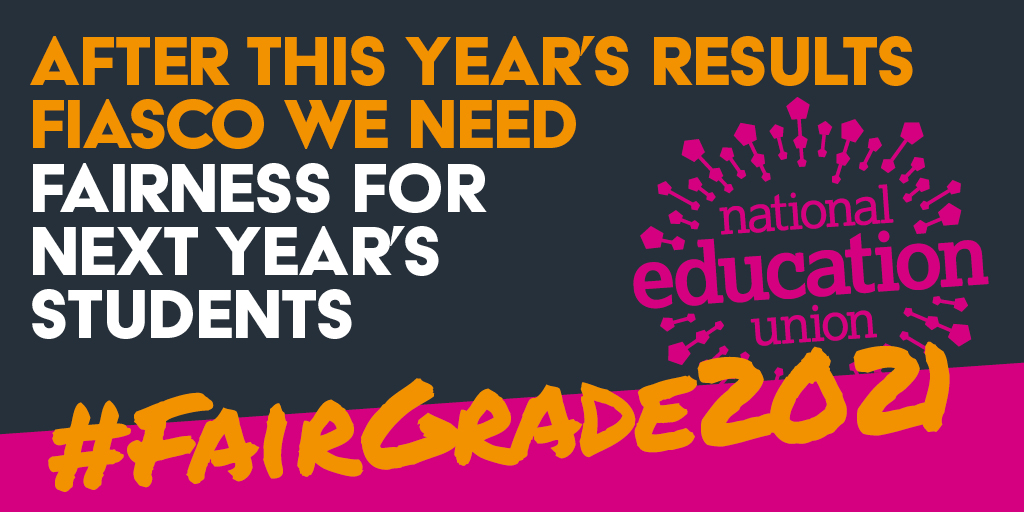 Government must take urgent action to ensure next year's GCSE and A-level cohorts are not disadvantaged.   🖋️Sign our petition 👉 https://t.co/tUiNdmhSU0 #FairGrade2021 https://t.co/7XwR4PJnBv