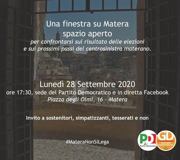 Insieme R-Innoviamo il @PD_Matera https://t.co/WDM...