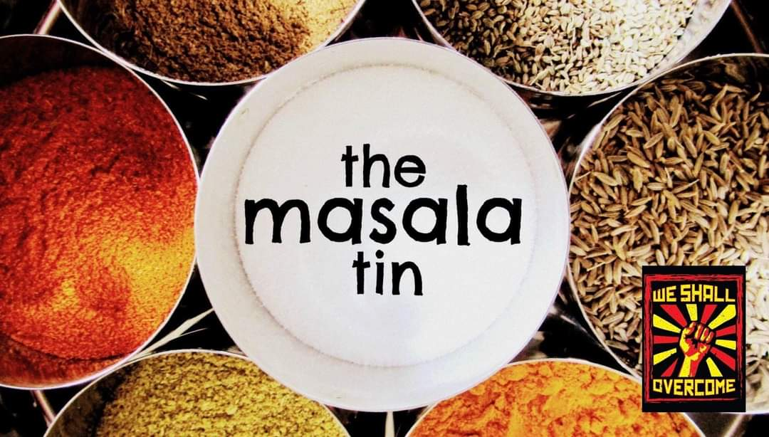 """Amazing & wonderfully creative idea. 11th Oct. MasalaTin kitchen running a """"WE SHALL OVERCOME WITH CURRY"""" zoom cookery class. Proceeds to @bigsleepoutbri1 & Purple Kitchen #foodbank. Following this, a masterclass in musicianship from the marvelous @RobbJJohnson! #WSO2020  ✊❤ https://t.co/UDiqsyR1pT https://t.co/Cl4JsIBCg3"""