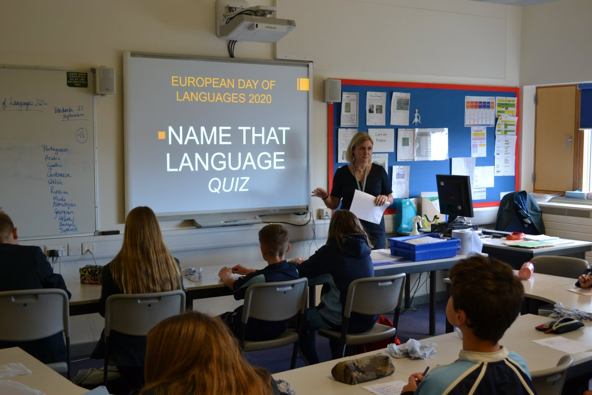 Thank you @MarlboroughCol! Unlike in previous years, our students were unable to attend the annual European Quiz for #EuropeanDayofLanguages We could still take part, though, as the college sent us the quiz questions, which Mrs Currell's Yr 8 French class enjoyed doing on Friday.