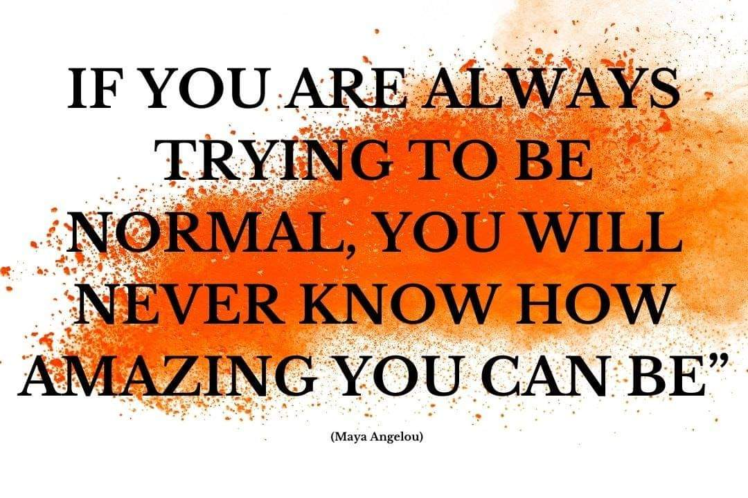 Why choose 'normal' when you are clearly AMAZING? 💜💜💜 #YouMatterAlways #youareimportantandyoumatter #yourthoughtsmatter #yourfeelingsmatter #yourvoicematters #yourstorymatters #yourlifematters #always #AllThatYouAre #whoyouarematters https://t.co/PaVq98BthE