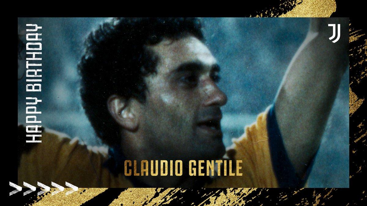 Happy Birthday to former Bianconero, Claudio Gentile! 🎂⚪️⚫️ https://t.co/k0uhgdiaT4