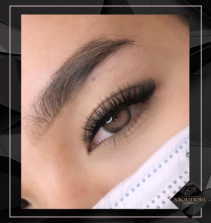 How stunning are these eyes? We went for a cat eyed Russian look to compliment her eye shape.⠀ Get this look with NBoutique Beauty On Demand Enquire : - https://t.co/nD3dHTAW1E #fakelashes #lashlift #eyelashextensions #eye #lashes #lashextensions #lash #russianlashes https://t.co/YhflLOVr1U