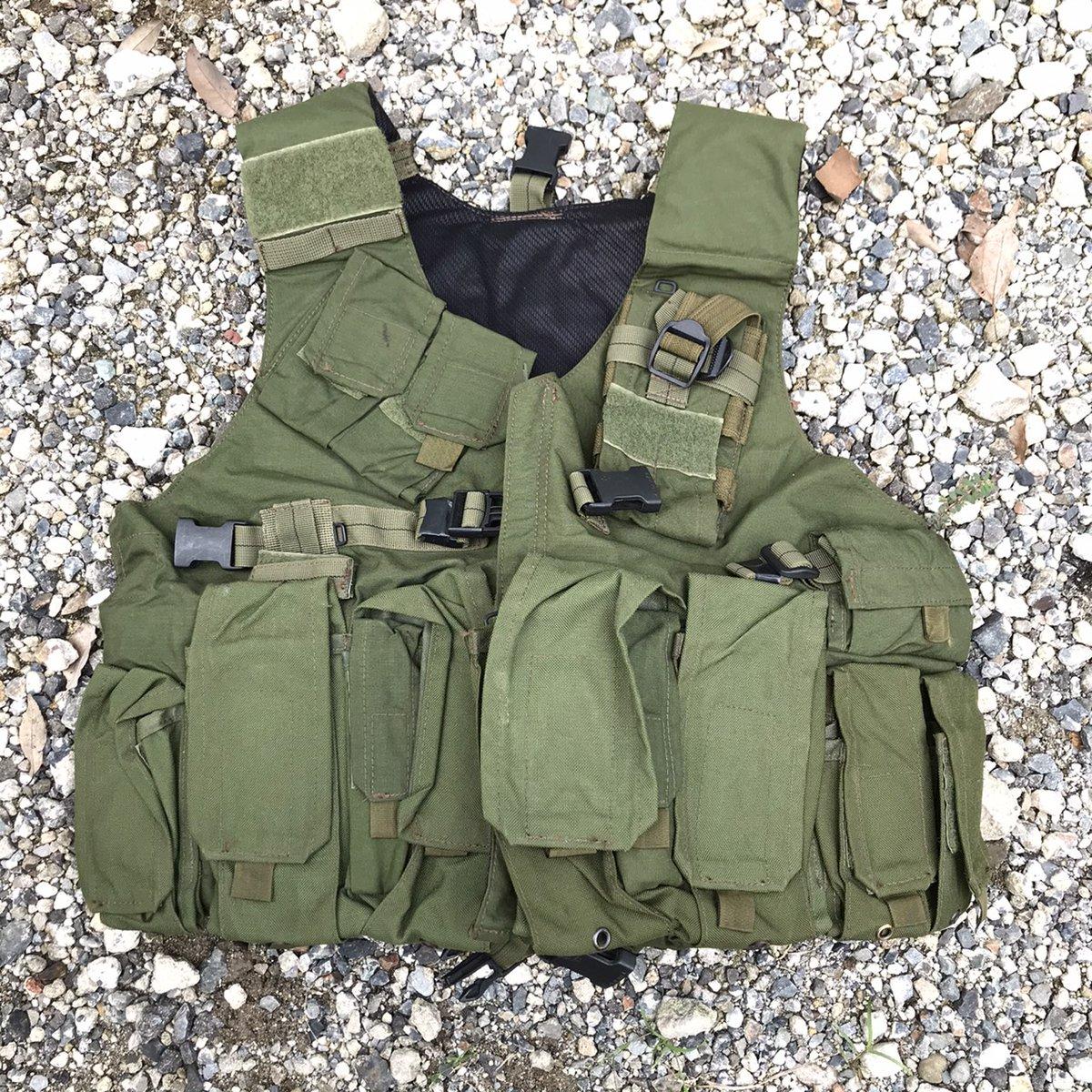 イスラエル:KATA社製ライフルマンベスト2つ持ってても要らないので手放します。2003年辺りから近年までのイタリア軍カラビニエリの第一パラシュート連隊「トゥスカニア」がイラク派遣時に着用していたベストです。送料込で20000円#ミリタリー物販
