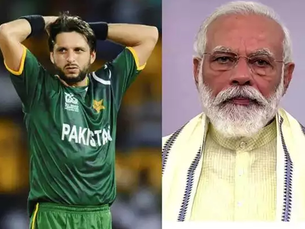 No chance of India-Pakistan bilateral series with Modi in power, says Afridi Photo