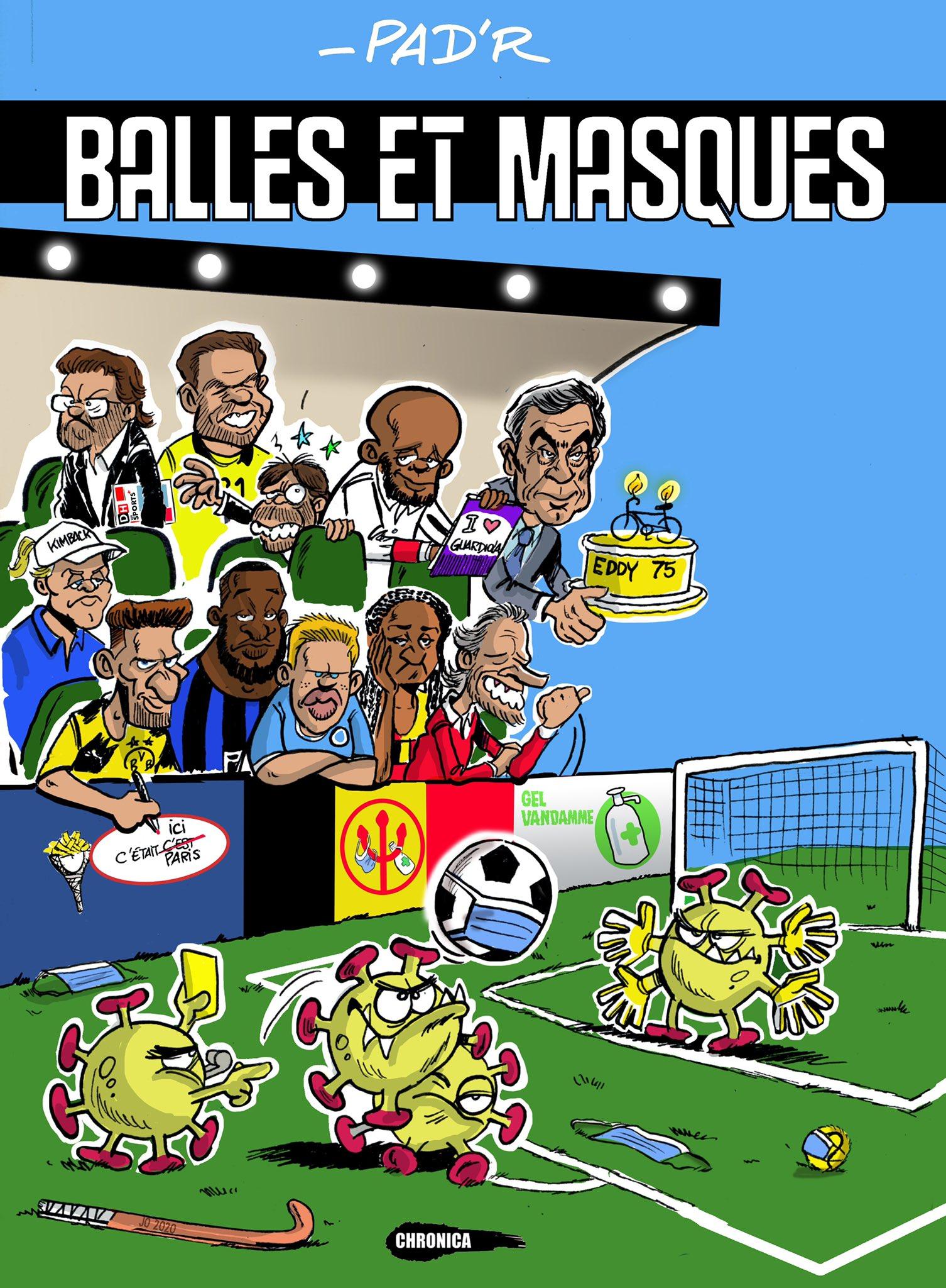 Balles et masques