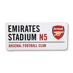 #FootballMemorabilia #SportsMemorabilia Arsenal FC - Authentic EPL Metal Street Sign ➤ https://t.co/bAv6ElqLFs https://t.co/cfajY864XS