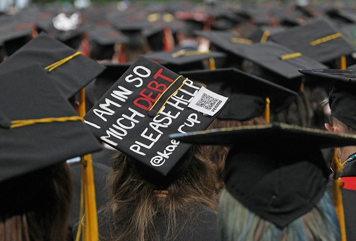 71% of all federal student loan debt is held by people between the ages of 25 and 49.