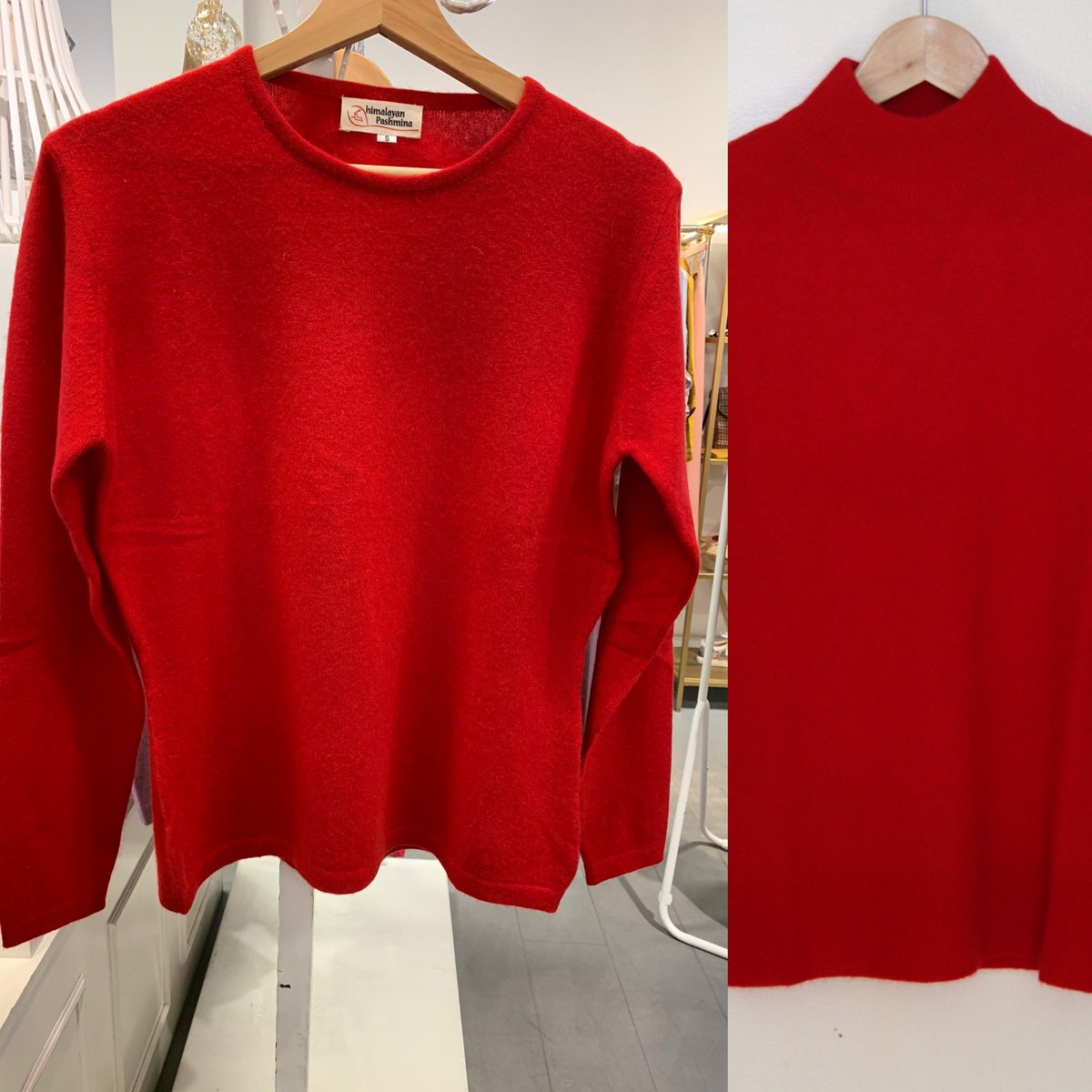 Luxurious hand knitted cashmere jumper by local weavers from Nepal- sure to keep you cozy and warm in round neck -polo neck  #gifts #specialgifts #ecofashion #SundayMorning #handmade #cashmere #knitwear #birthdaygifts #fashion #cozyandwarm #sustainable #christmasgifts https://t.co/VG0tIcvRK0