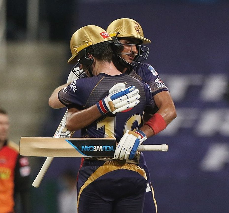 Glad to get off the mark. @KKRiders 💜