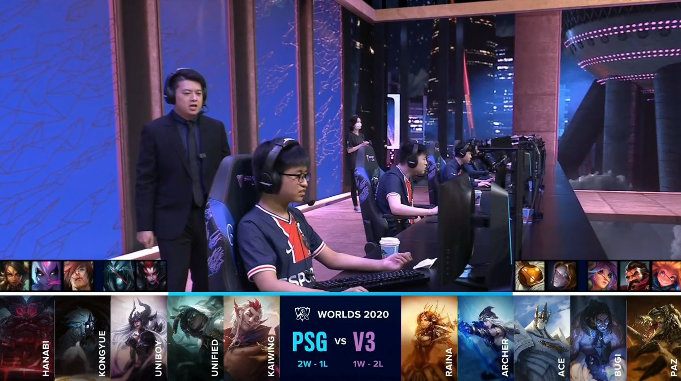 Play In Stage Day 3 Psg Qualifies To The Main Event And V3 Is First To Be Eliminated