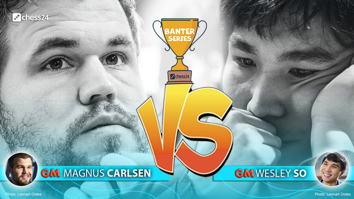 test Twitter Media - It's Carlsen vs. So at 20:00 CEST on TUESDAY in the #c24Banter Series final! Here's how they got there:  https://t.co/VhKDi9NeEp   #c24live https://t.co/PdDmV7yaQf
