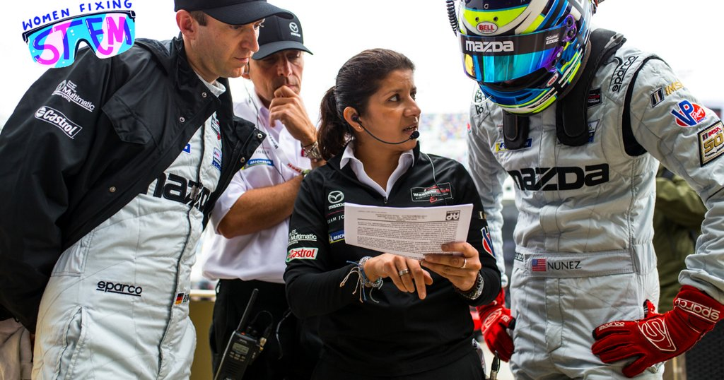 This race car engineer is changing the industry. (Just don't call her a 'female' engineer.)