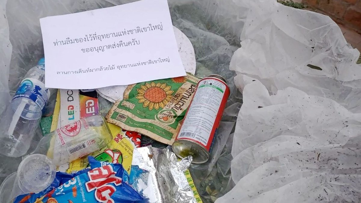Left Trash in Our Park? We Will Mail It Back to You! – Thailand's Khao Yai National Park has found a new way to keep its premises clean and to increase awareness against littering: officials send back to tourists the trash they left behind.  #Littering #Wi https://t.co/QO0yceZShh https://t.co/rCs4Pu3Ilp