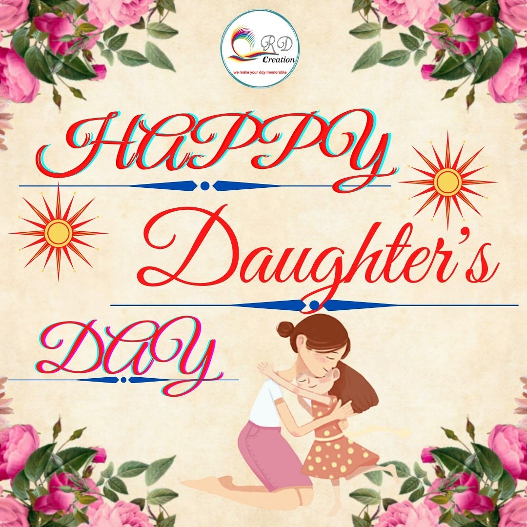 A daughter is the best thing that can happen to you because a daughter fills your heart with magic and love. Happy daughter's day.  #rdcreation #wemakeyourdaymemorable  #daughters #love #family #daughter #momlife #kids #mothers #girls #mom #motherhood #sons #instagood #mother https://t.co/TL0RiVFE2Q