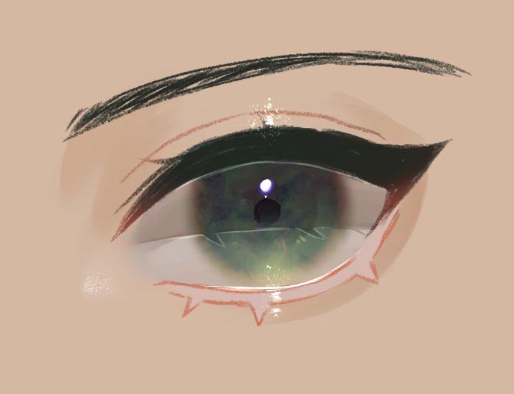 目のメイキング💎
