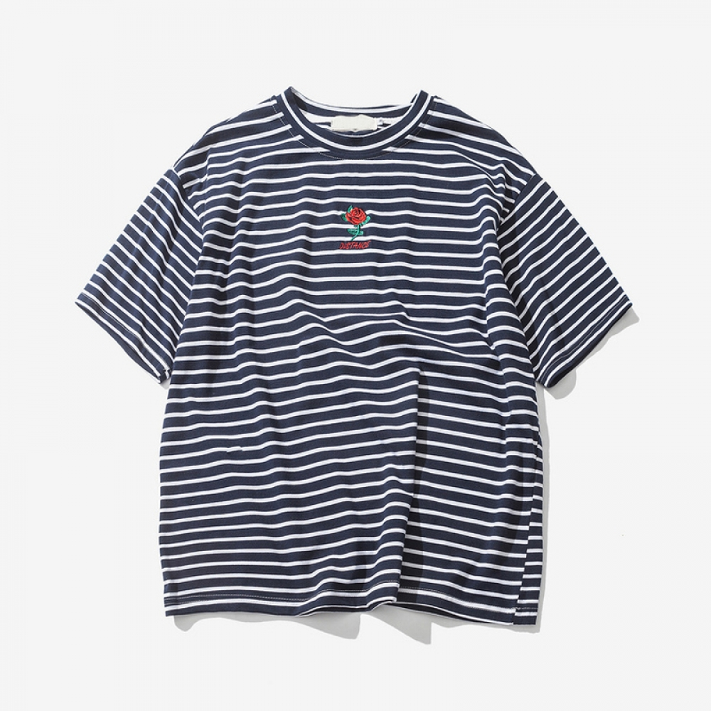 #crystals #cheer Men's Embroidered Striped T-Shirt https://t.co/UfKCvx9EV7 https://t.co/BXNRNHYWYF