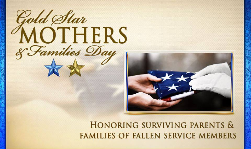 On Gold Star Mothers and Families Day, we honor and recognize the sacrifices of the families and loved ones of fallen service members. We will never forget. #HonorThem https://t.co/x6F9n43XQH
