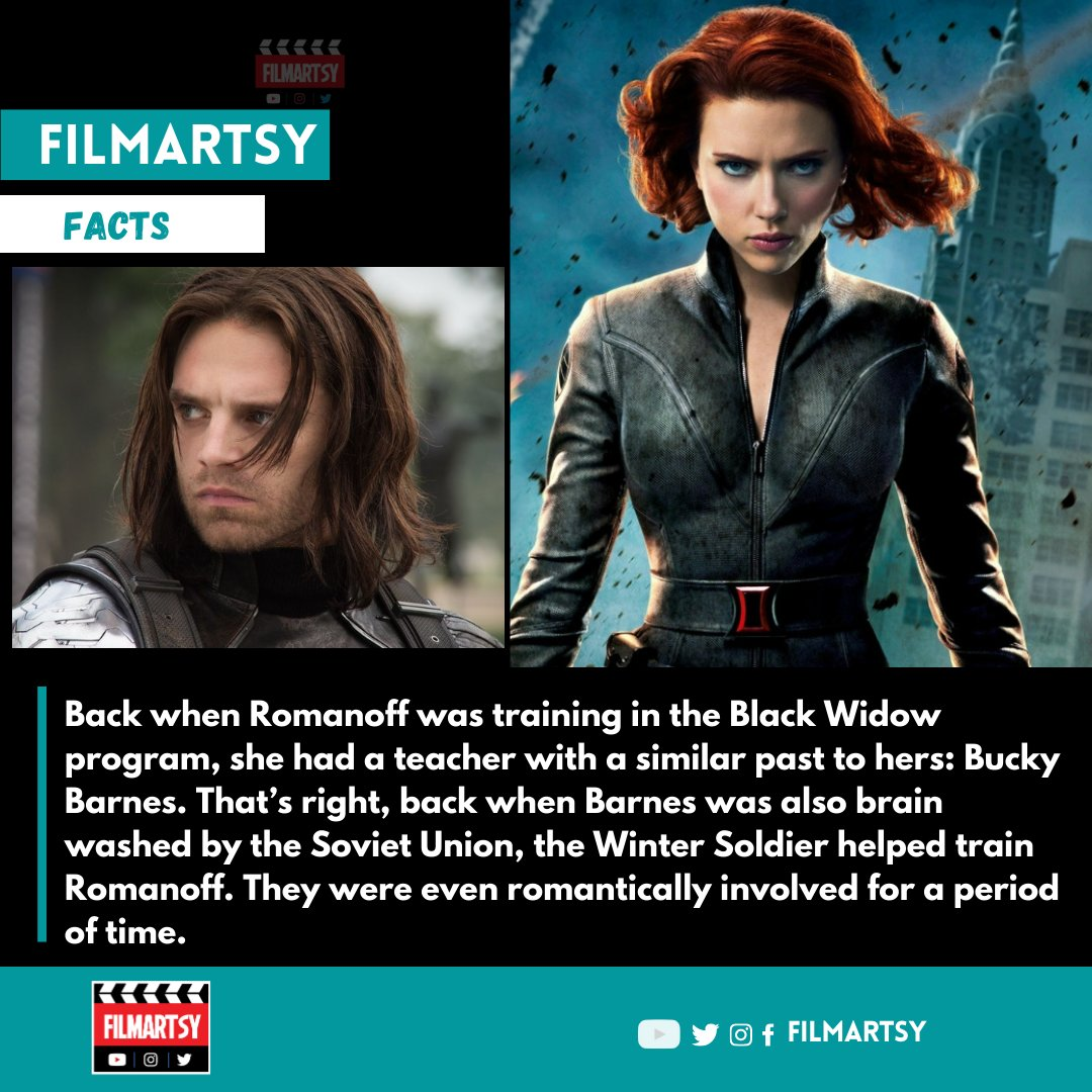 Did you know?  #marvel #marvelentertainment #mcu #marveluniverse #marvelfacts #endgame #infintywar #mcufacts #avengersfacts #factsdaily #dankmemes #wintersoldier  #filmartsyfacts #filmartsy #filmonger #filmongerfacts #didyouknow #didyouknowfacts https://t.co/vUvTJ45puQ
