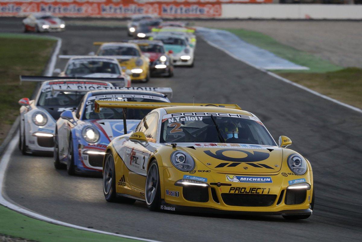 Heute gewann @NickYelloly das 24-Stunden-Rennen auf dem @nuerburgring. 2016 stand er dort schon im #CarreraCupDE auf dem Podium. Der Brite bestritt die Saison vor vier Jahren im #Porsche #911GT3Cup von @Project1_93 https://t.co/9fghEff7C6