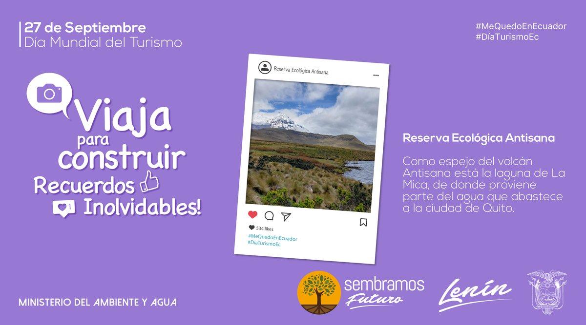 #DíaTurismoEc | Cuando visites las áreas protegidas, recuerda acatar las instrucciones de #NuestrosGuardaparques.   Conoce cuáles están reabiertas → https://t.co/rDYtLNyQ9S  #MeQuedoEnEcuador https://t.co/1mAjW8Thk1